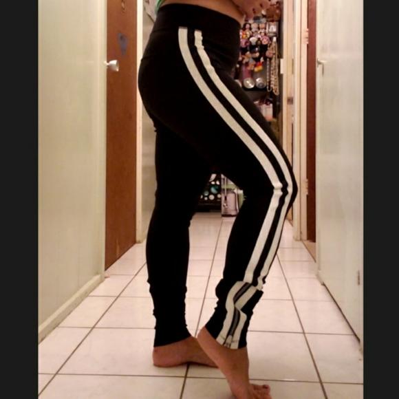 Spiritual Gangster Striped workout pants